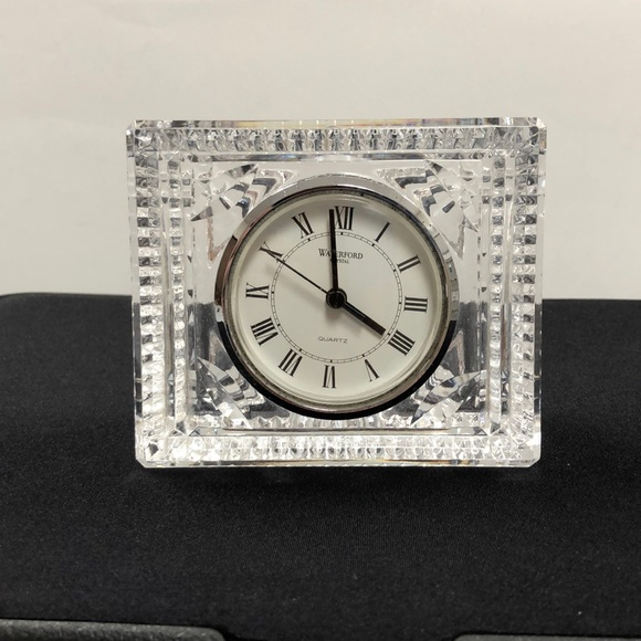 Waterford Other - Waterford crystal clock.